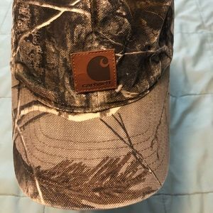 Carhartt Camo Hat Canvas